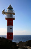 Lighthouse Tenerife. A digital image of a lighthouse on the northwest coast of Tenerife stock photography