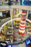 Lighthouse in Terminal 21 Shopping Mall royalty free stock photo