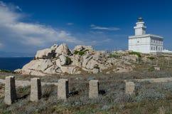 Lighthouse, Testa cape Royalty Free Stock Photos