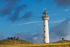 Lighthouse in Egmond aan Zee. Lighthouse in Egmond  in the Netherlands Royalty Free Stock Image