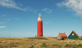 Lighthouse Texel Stock Photo