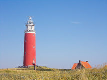 Lighthouse in Texel Royalty Free Stock Images