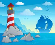 Lighthouse theme image 1 Royalty Free Stock Photography