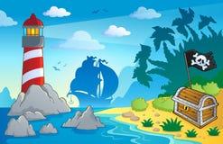 Lighthouse theme image 2 Royalty Free Stock Photo