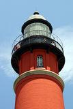 Lighthouse Three. Photo of Ponce Inlet lighthouse in Florida Stock Image