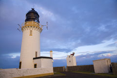 Lighthouse in Thurso Stock Image