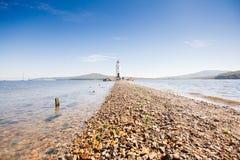 Lighthouse Tokarevskaya koshka in Vladivostok Royalty Free Stock Photography