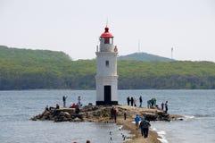 Lighthouse Tokarevskiy Royalty Free Stock Photos