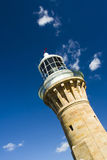 Lighthouse top incline Royalty Free Stock Photography