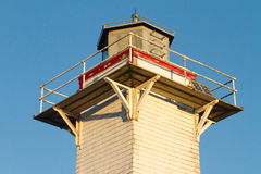 Lighthouse Top Royalty Free Stock Photography