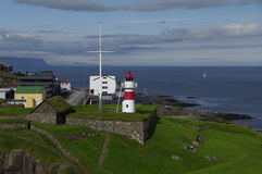 Lighthouse Torshavn Royalty Free Stock Photo