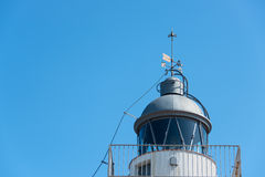 Lighthouse at Tossa de Mar Stock Photography
