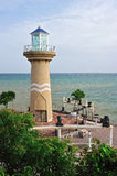 Lighthouse tower, Pattaya city Royalty Free Stock Photography