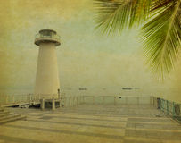 Lighthouse tower. Royalty Free Stock Photos