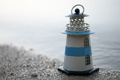 Lighthouse toy Stock Images