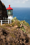 Lighthouse trail. Royalty Free Stock Image