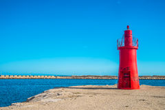 Lighthouse in Trani Royalty Free Stock Image