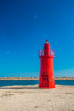 Lighthouse in Trani Royalty Free Stock Photo