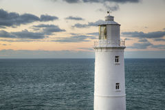 Lighthouse at Trevose Head Stock Photo
