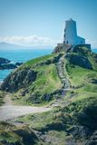 The lighthouse of Twr Mawr Llanddwyn Island Royalty Free Stock Photos