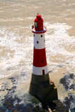 Lighthouse UK. A lovely coastal scene at Beachy Head which is near Eastbourne UK showing a lighthouse Stock Photo