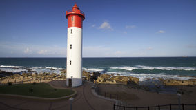 Lighthouse in Umhlanga Stock Photography