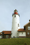 Lighthouse of Urk. Lighthouse of the former island Urk royalty free stock image