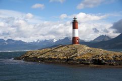 Lighthouse Ushuaia - Argentina Stock Image