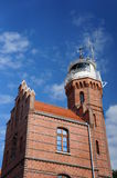 Lighthouse in Ustka Stock Images