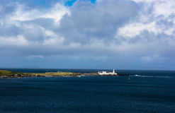 Lighthouse on Valentia Island in Ireland Royalty Free Stock Photos