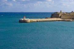 Lighthouse, Valletta Stock Images