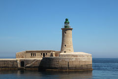 Lighthouse in Valletta, Malta Royalty Free Stock Photo