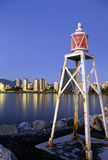Lighthouse- Vancouver, Canada Stock Photos