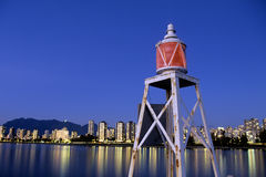 Lighthouse- Vancouver, Canada Stock Photo