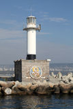 The lighthouse in Varna Stock Photos