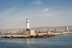 Lighthouse in Varna, Bulgaria Royalty Free Stock Photo