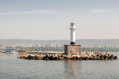 Lighthouse in Varna, Bulgaria Stock Image