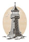 Lighthouse vector illustration Royalty Free Stock Photo