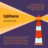 Lighthouse vector Stock Photo