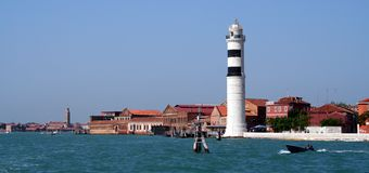 Lighthouse, Venice. Italy Stock Photos
