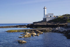 Lighthouse in ventotene Royalty Free Stock Photo