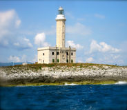 Lighthouse Vieste Royalty Free Stock Photography
