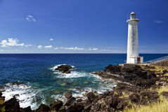 Lighthouse at Vieux-Fort, Guadeloupe Stock Photos