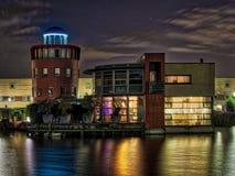 Lighthouse villa. Barendrecht the Netherlands, modern architecture stock photos