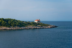 Lighthouse on Vis Island Royalty Free Stock Photography