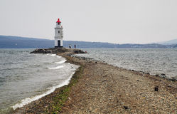 Lighthouse in Vladivostok, Russia Royalty Free Stock Image