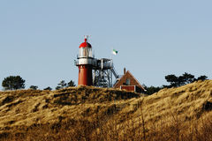 Lighthouse on Vlieland Royalty Free Stock Photography