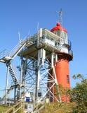 Lighthouse of Vlieland.Netherlands Stock Images