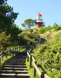 Lighthouse of Vlieland.Netherlands Stock Photos