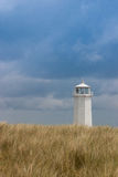 Lighthouse on Walney Island, Great Britain Royalty Free Stock Image